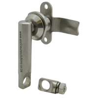 PINNACLE STAINLESS STEEL: PADLOCKABLE LEVER LOCK