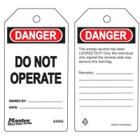 Safety Signs and Lockout Tags