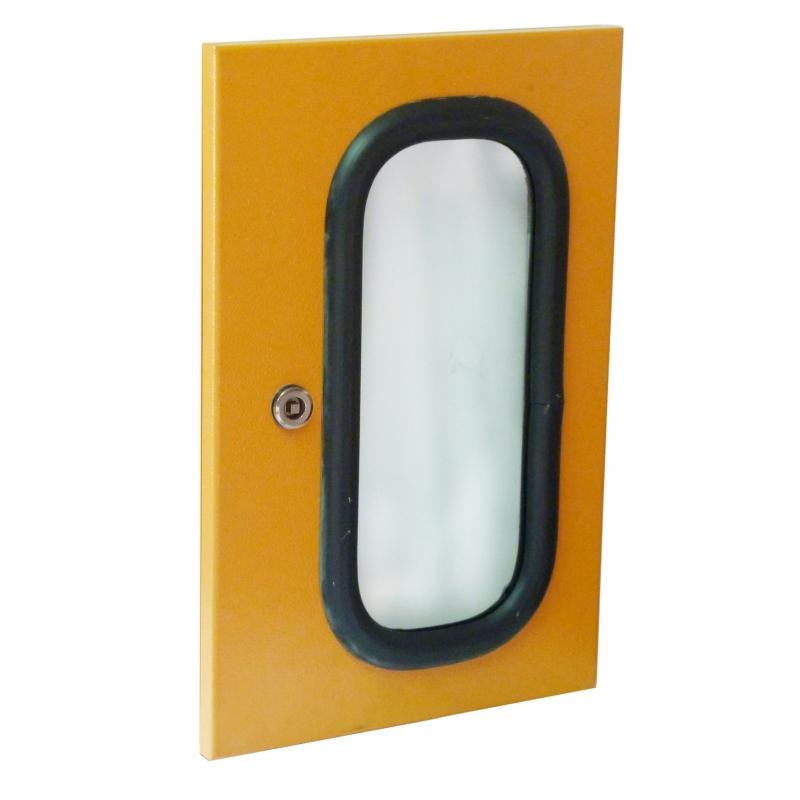 316 Stainless Steel Glass Door Enclosure Solutions