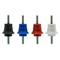INSULATORS: POLYPROPYLENE LOW VOLTAGE - A5 SKIRTED M5