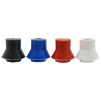 INSULATORS: POLYPROPYLENE LOW VOLTAGE - SEMI SKIRTED M10